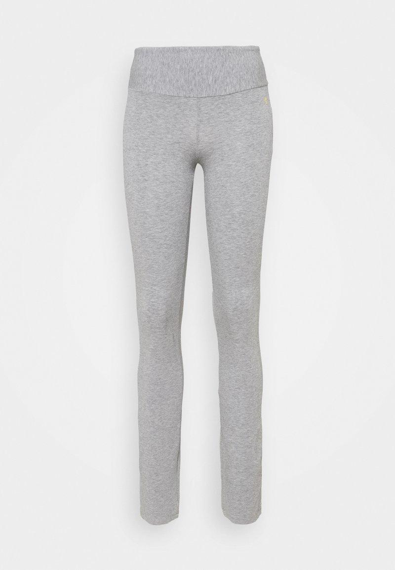 Deha - TIGHT PANTS - Tracksuit bottoms - grey melange