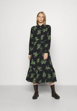 FLORAL MIDAXI - Denní šaty - dark blue