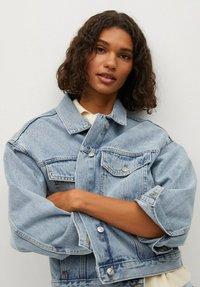 Mango - Denim jacket - bleu moyen - 3