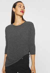 ONLY - ONLGLAMOUR - Strickpullover - dark grey /  melange - 3