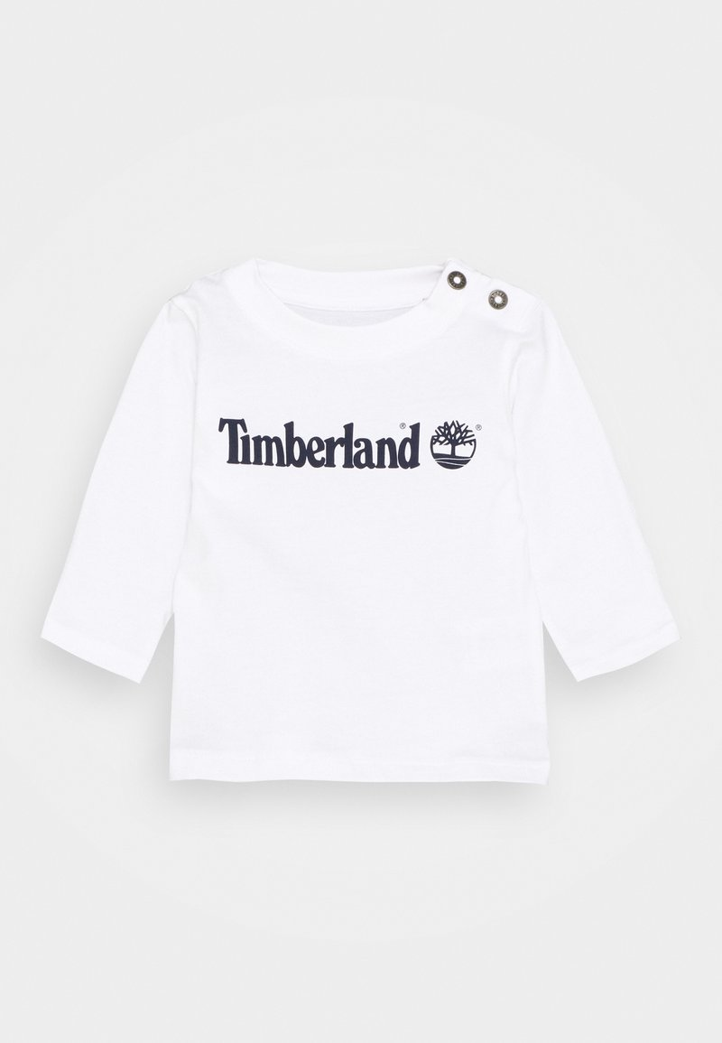 Timberland - LONG SLEEVE - Long sleeved top - white