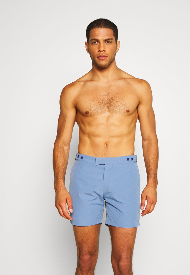 TAILORED BLOCK - Surfshorts - slate blue