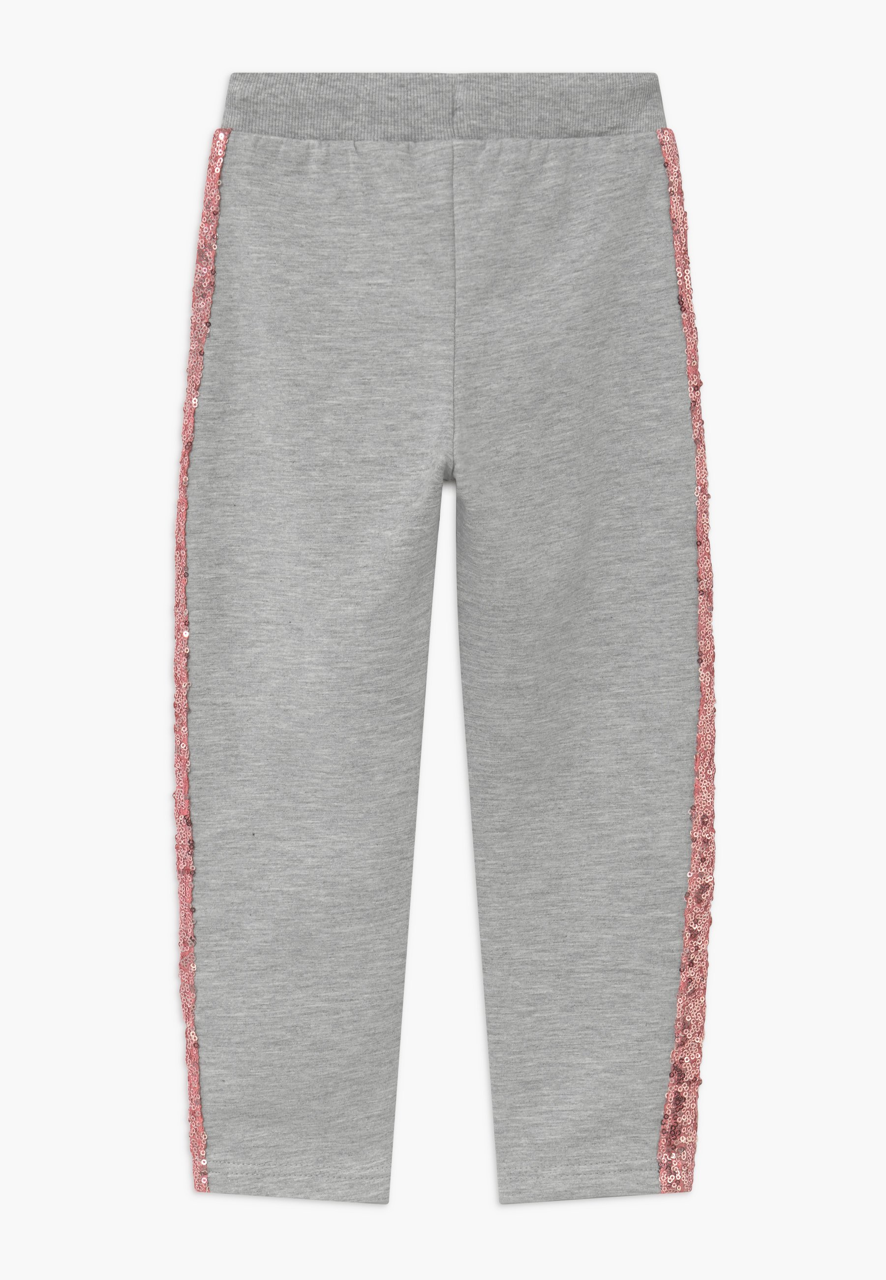 KIDS SEQUIN SIDE STRIPE Joggebukse grey