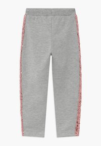 Blue Seven - KIDS SEQUIN SIDE STRIPE - Tracksuit bottoms - grey - 1