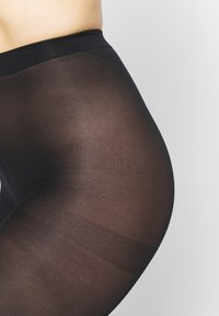 DIM - SEMI OPAQUE THIGHS BEAUTY 2 PACK - Tights - black - 2