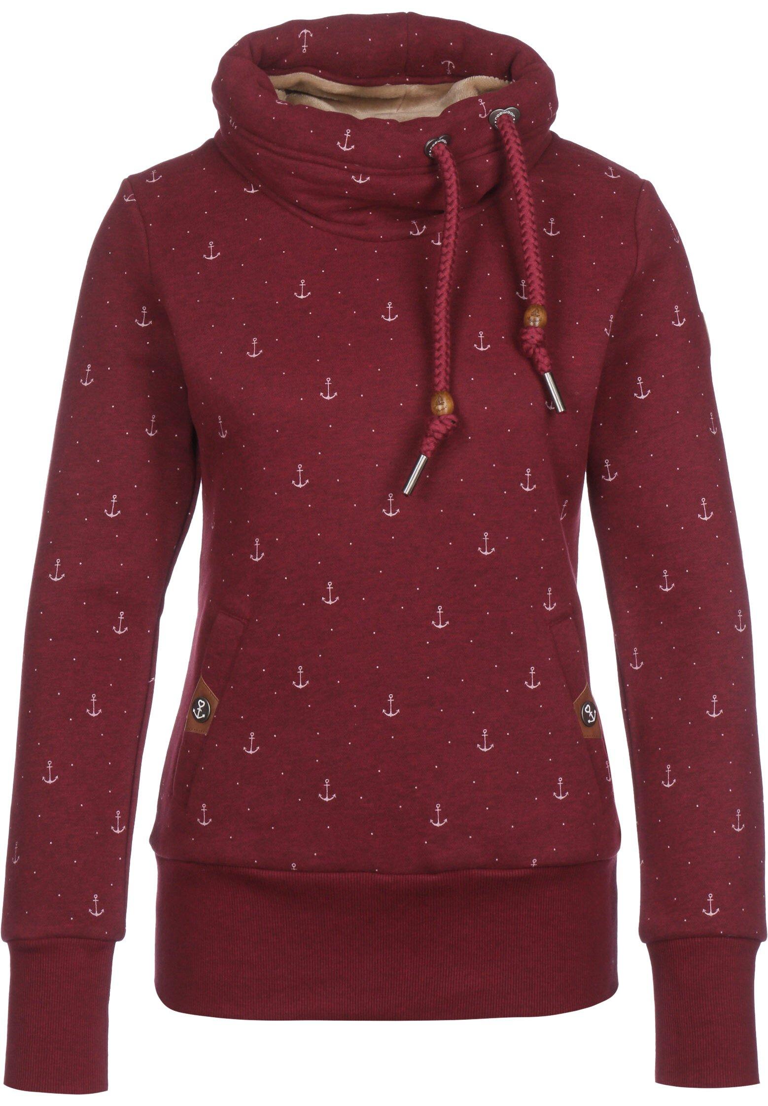 Ragwear Neska Sweatshirt Damen in rot
