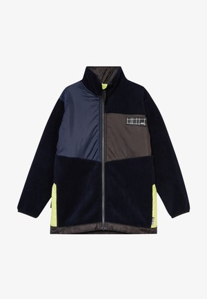 URBAIN - Fleece jacket - dark navy