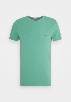STRETCH SLIM FIT TEE - T-paita - frosted evergreen