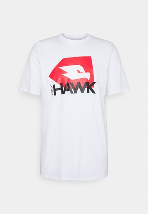 JONES UNISEX - T-shirt print - white
