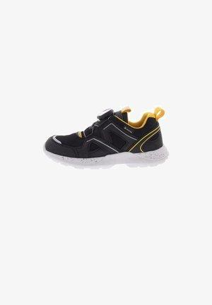 Sneakers laag - schwarz/gelb