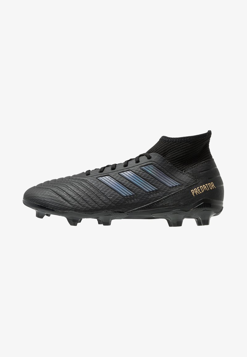 adidas Performance - PREDATOR 19.3 FG - Moulded stud football boots - core black/gold metallic