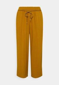 MY TRUE ME TOM TAILOR - PANTS FEMININE WIDE LEG - Trousers - california umber - 0