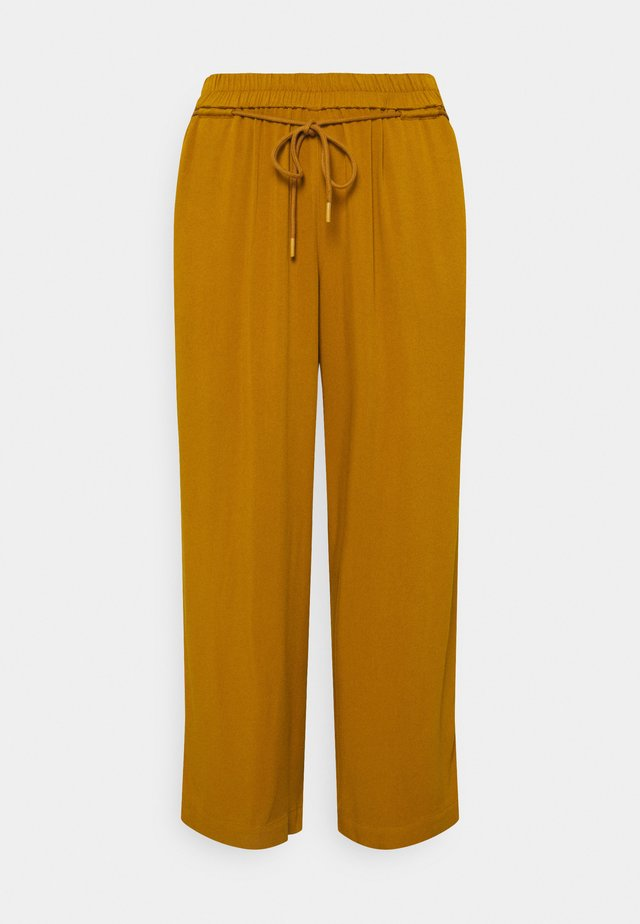 PANTS FEMININE WIDE LEG - Broek - california umber