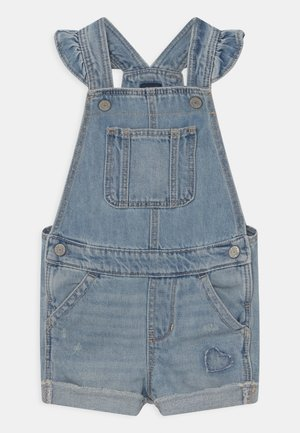 TODDLER GIRL - Dungarees - light-blue denim