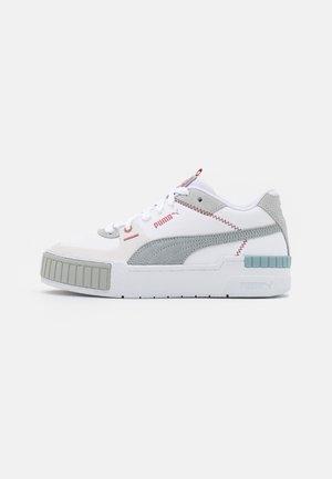 CALI SPORT MIX - Sneakers basse - white/glacial blue/blue fog