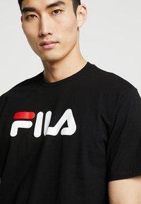 Fila - PURE TEE - Print T-shirt - black - 3