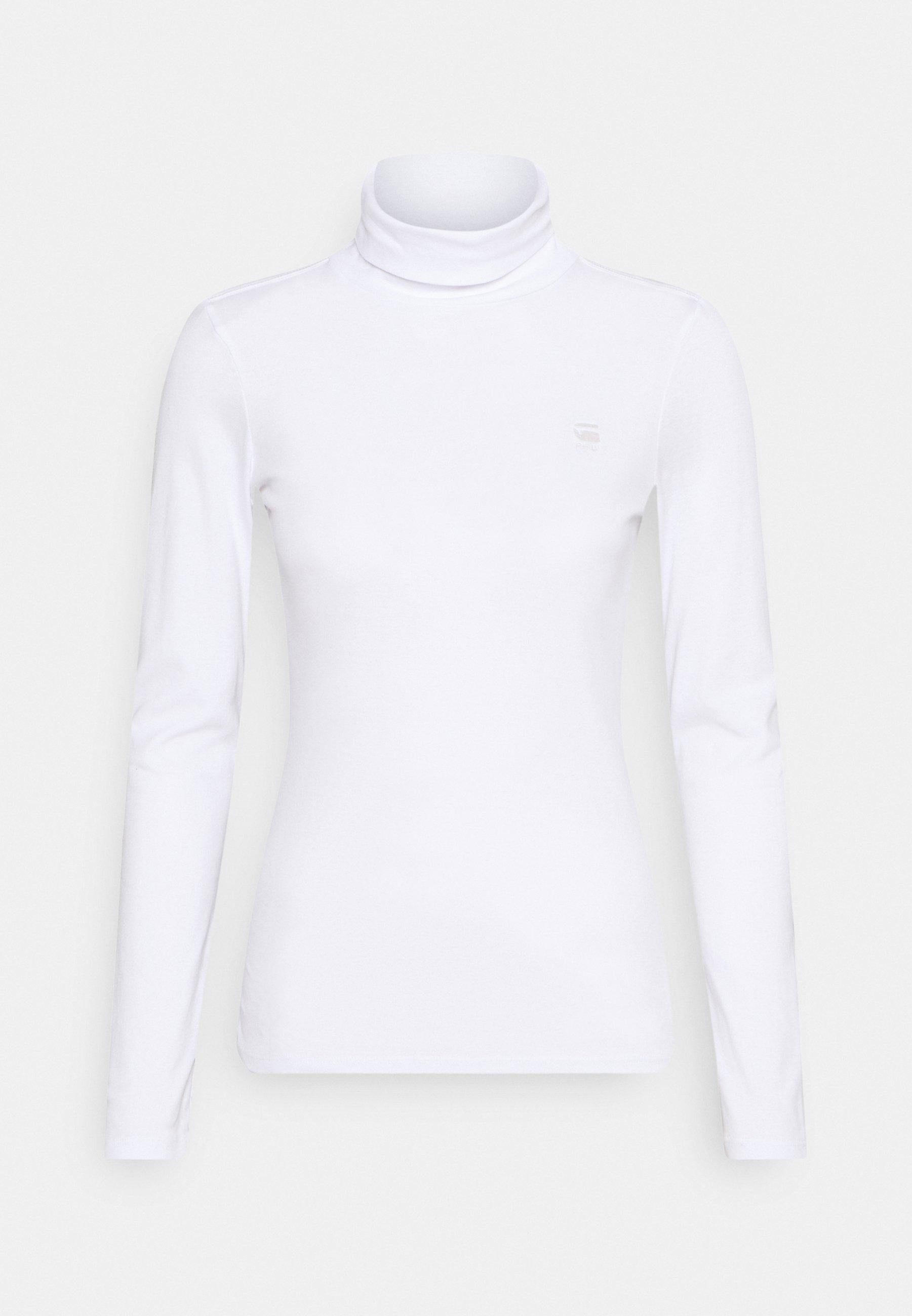 Women XINVA SLIM TURTLE LONG SLEEVE C - Long sleeved top