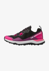 The North Face - W ACTIVIST FUTURELIGHT - Hiking shoes - black/pink - 0
