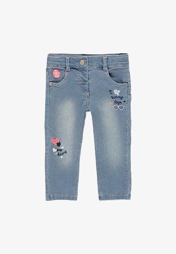 Straight leg jeans - bleach
