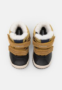 Geox - OMAR BOY WPF - Winter boots - yellow/blue - 3