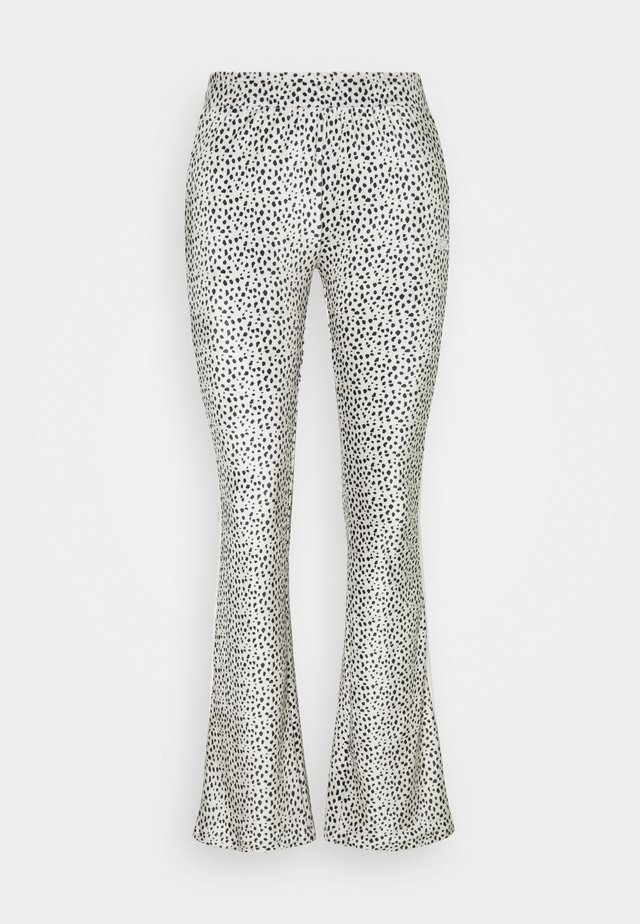 FLARED PANTS - Pantalon de survêtement - safari