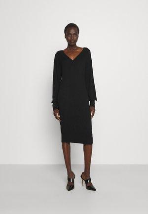 DRESS - Jumper dress - nero