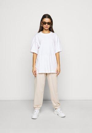 2 PACK - Basic T-shirt - white/mint