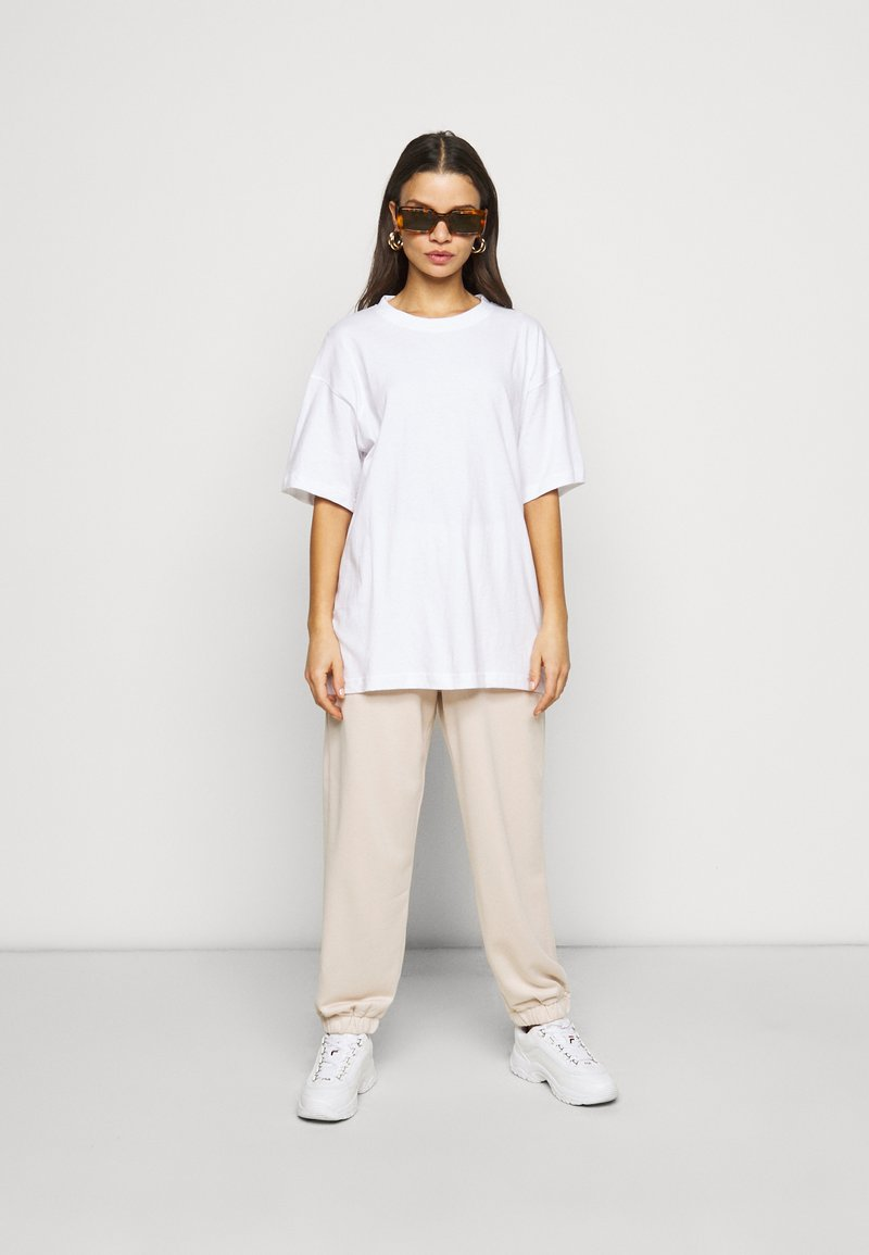 Missguided Petite - 2 PACK - Basic T-shirt - white/mint