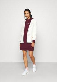 Ellesse - PESCOL - Day dress - burgundy - 1