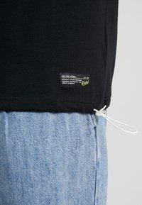Redefined Rebel - SETH TEE - Print T-shirt - black - 5