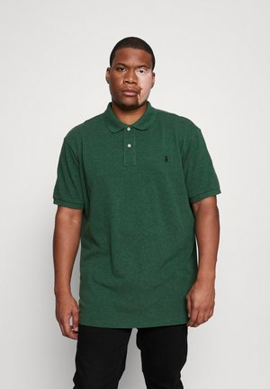 SHORT SLEEVE - Polo shirt - verano green heather