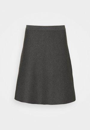 FANCY SKIRT - Mini skirt - cloudy grey