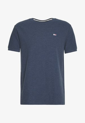MINI WAFFLE TEE - T-shirt - bas - twilight navy