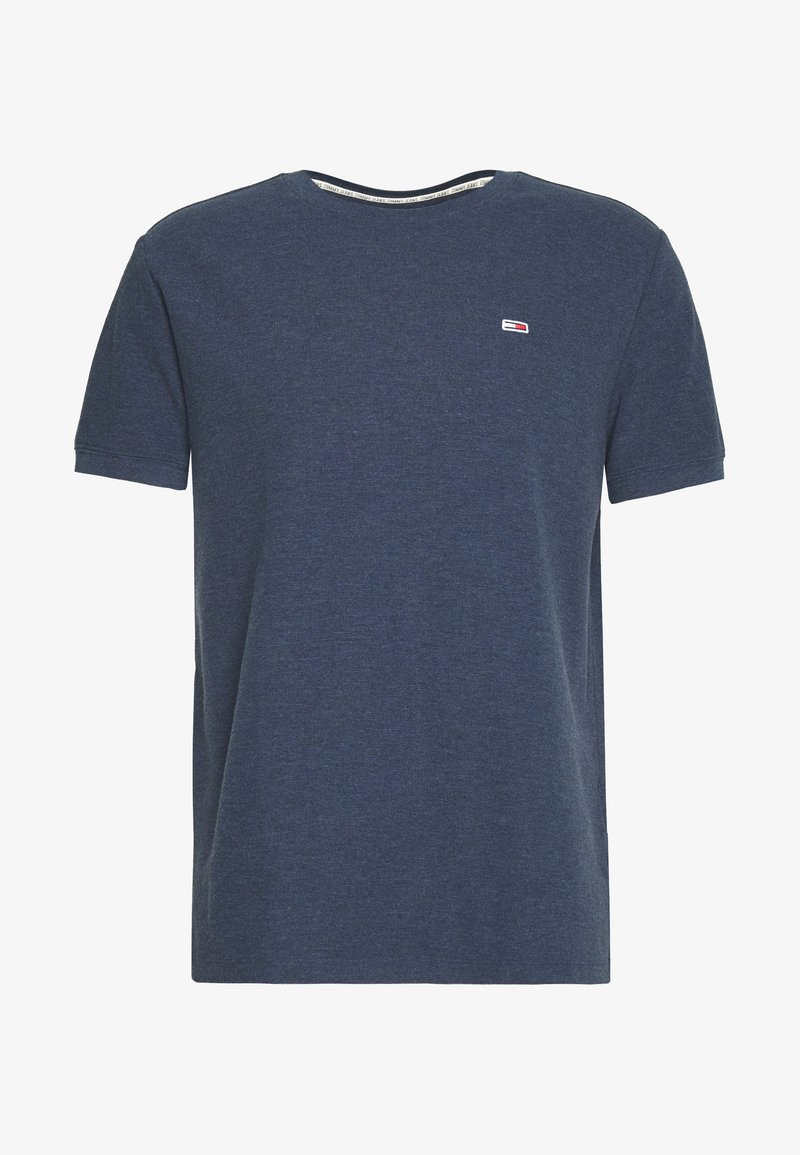 Tommy Jeans - MINI WAFFLE TEE - T-shirt basic - twilight navy