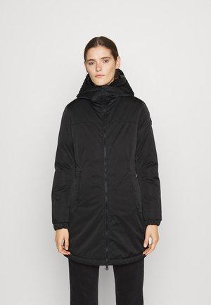 MATTE COAT - Winter coat - black dark steel