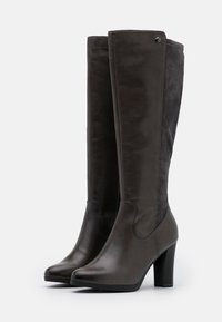 Caprice - BOOTS - High heeled boots - dark grey - 2