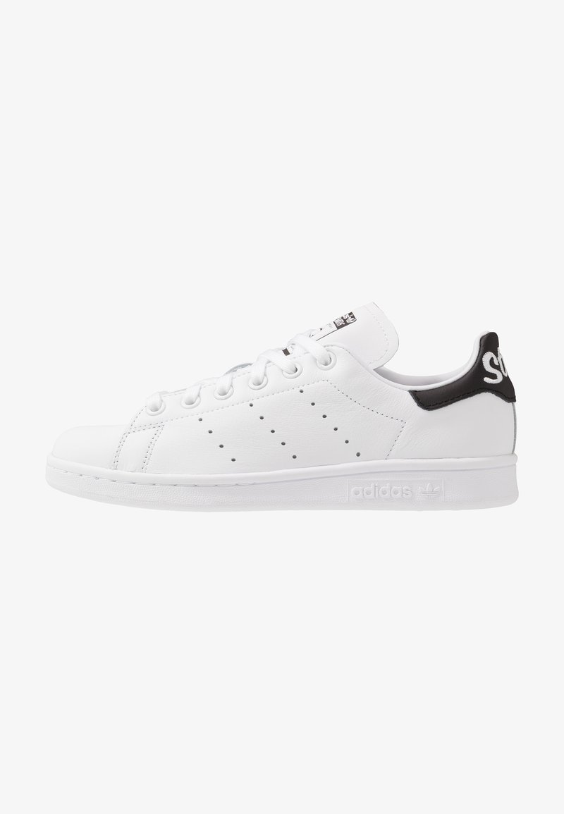 adidas Originals - STAN SMITH NEON HEEL SHOES - Joggesko - footwear white/core black