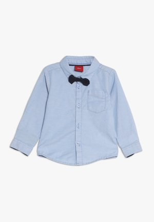 LANGARM - Button-down blouse - pacific blue