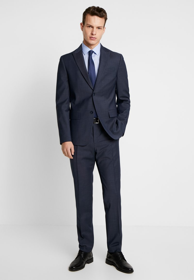 Calvin Klein Tailored - BISTRETCH DOT - Suit - blue