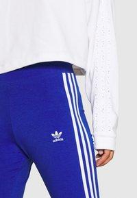 adidas Originals - Leggings - Trousers - team royal blue/white - 4