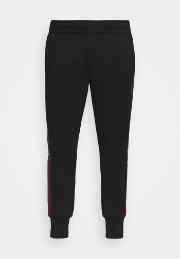 JJIWILL ZSTRIPE PANTS - Tracksuit bottoms - black