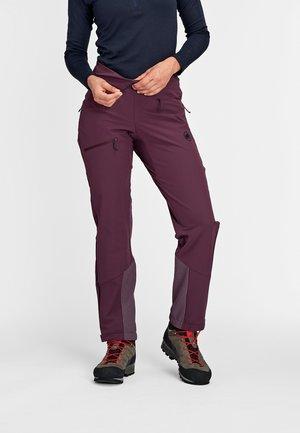 AENERGY - Snow pants - blackberry