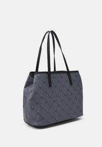 U.S. Polo Assn. - HAMPTON POUCH PRINTED - Shopping bag - black - 1