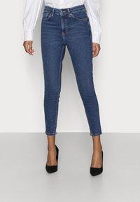 Topshop Petite - JAMIE - Jeans Skinny Fit - rich blue - 0