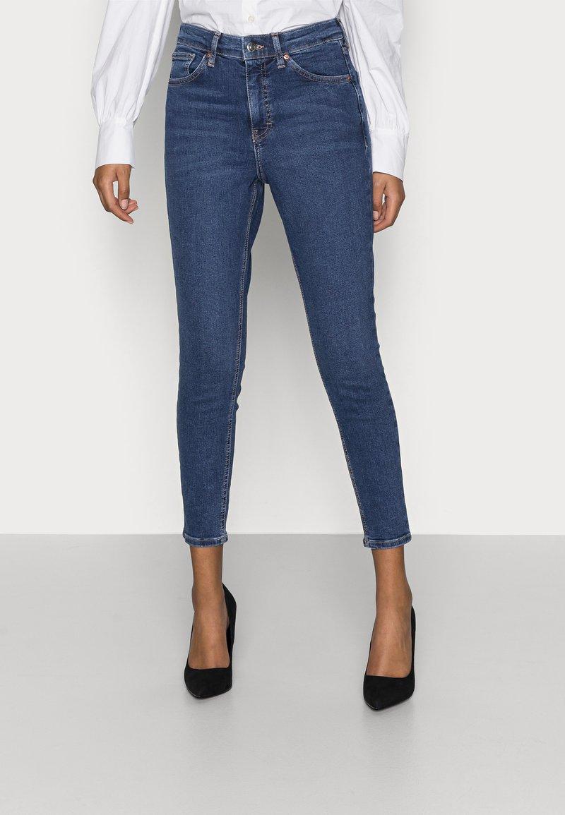 Topshop Petite - JAMIE - Jeans Skinny Fit - rich blue
