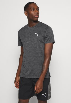 RUN FAVORITE TEE - Print T-shirt - dark gray heather
