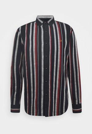 MCPHERSON STRIPE  - Shirt - true navy marl