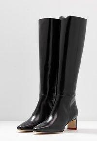 Aeyde - SIDNEY - Vysoká obuv - black - 4