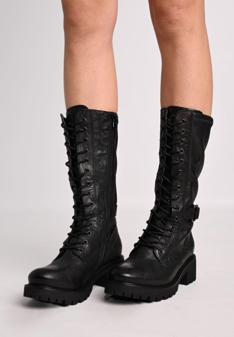 NeroGiardini - MONACO  - Lace-up boots - nero