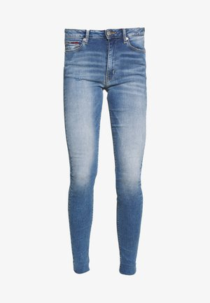 SYLVIA SUPER ANKLE - Jeans Skinny Fit - blue denim
